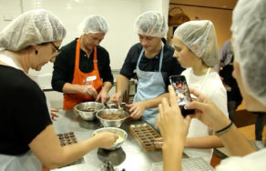 Kimberley Chocolates Workshop Group Fun