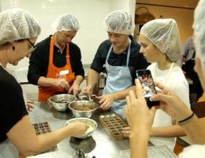 Kimberley Chocolates Workshop Group Fun